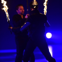 Art on Ice 2014 dans-head-on-fire-art-on-ice-2014-all-part-of-the-job