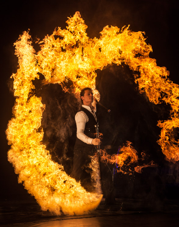 Philadelphia Fire Breather Terry Fields - Flamewater ...