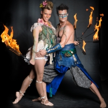 Bespoke fire performers wedding entertainment ideas