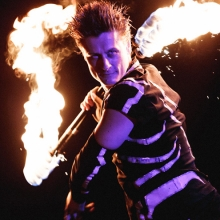 circus acts performers aerialist fire dance Fire Breathing