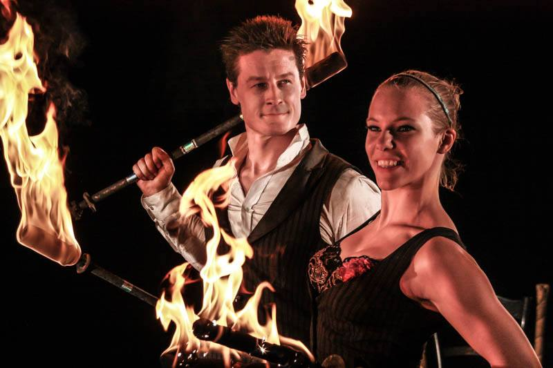 Feuershow, Showacts, Artistik, Cirque du Soleil Feuerkünstler | Entertainment Events, Europaweit