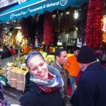 Steffi Aerial Silk artists in Spice market