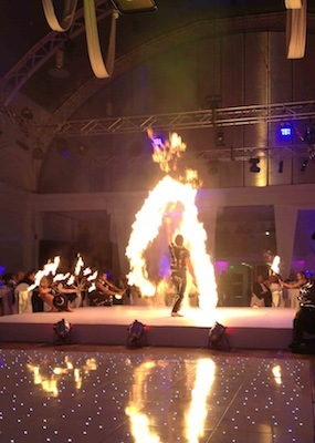 Corporate Fire Shows wow factor Fire jugglers
