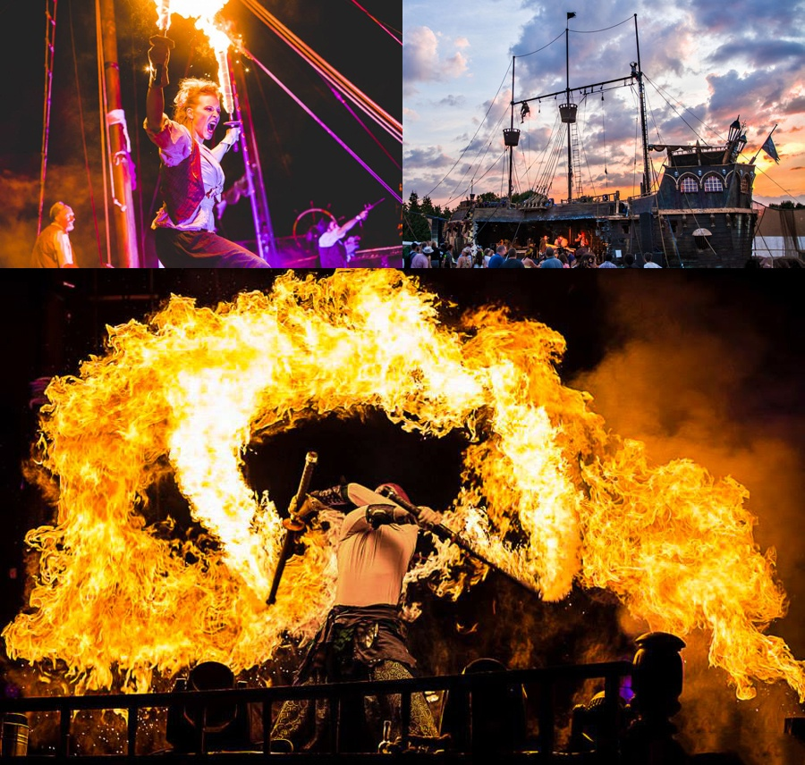 Spark Fire Dance - Boomtown Pirate Show