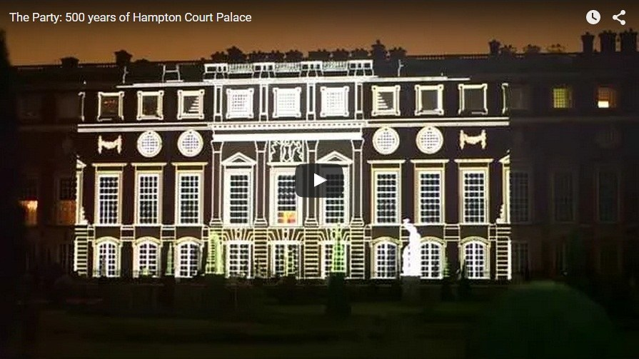 Hampton Court projection light show